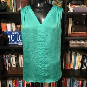 Violet & Claire Green Tank Top